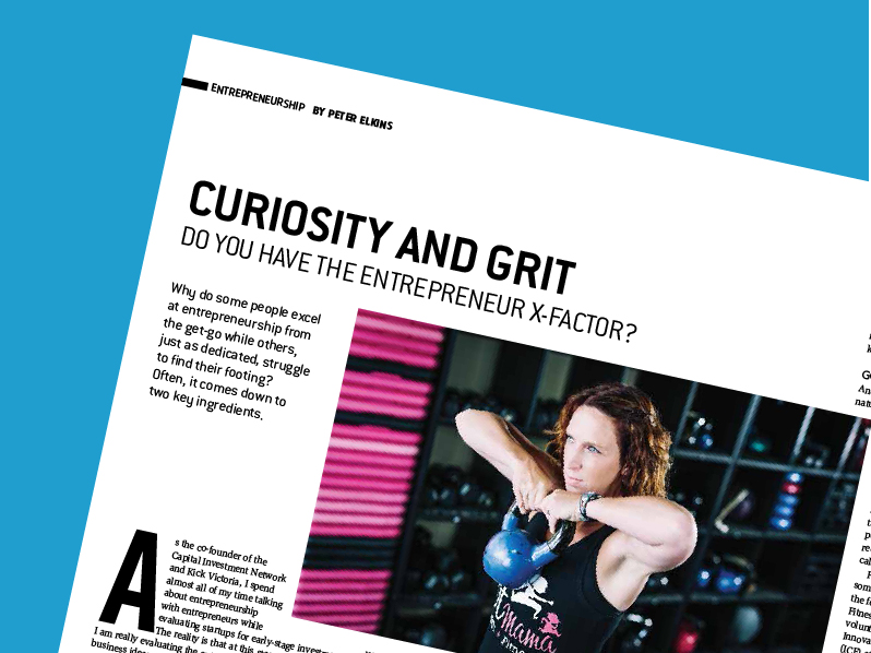 Curiosity and Grit