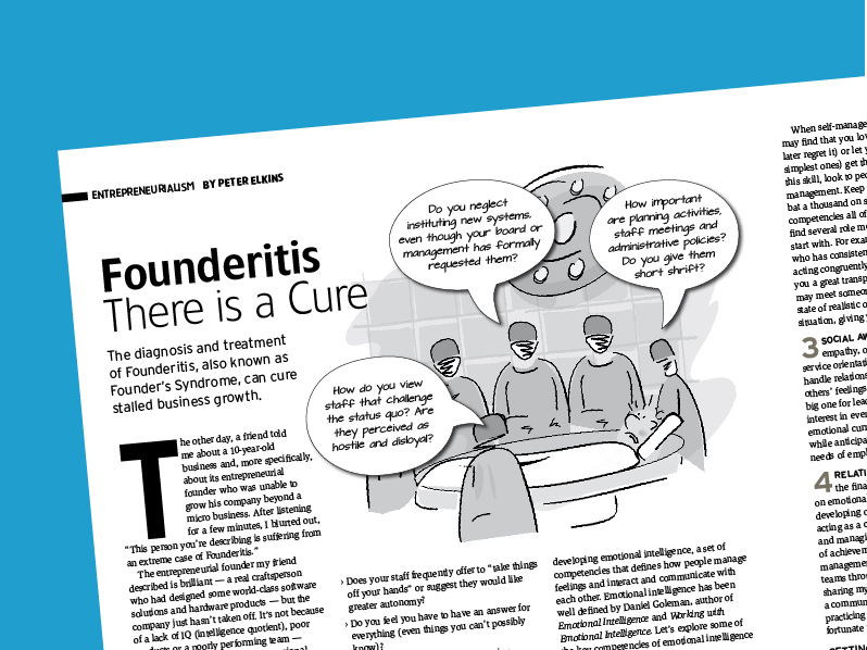 Founderitis – There is a Cure